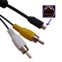 Kabel Audio Video (AV) untuk Nikon Coolpix 8700 8400 5700 5400 5000 4500